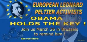 Peltier Brüssel Aktion