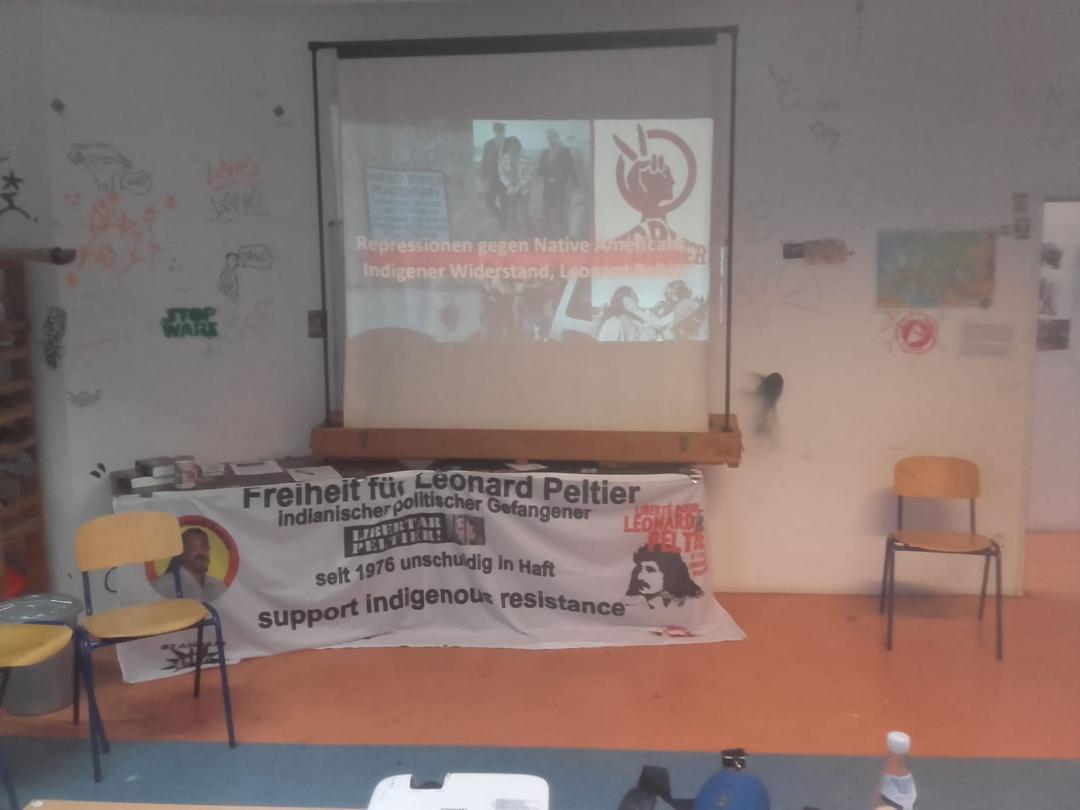 Radiosendung zu Peltier, Repression gegen Indigene und indigenen Widerstand  am 1.4.2020