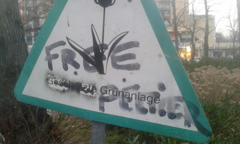 17.5.2020: Mahnwache für Peltier, Abu-Jamal u.a. in Frankfurt am Main